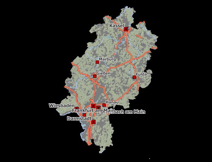 Wiesbaden Karte.Www Geoportal Hessen De Startseite